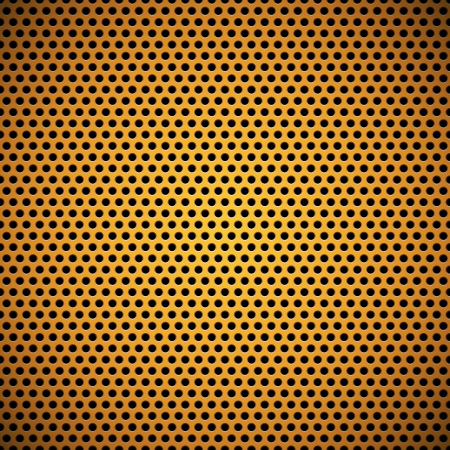 plastic texture: Orange technology background with seamless circle perforated plastic  carbon  speaker grill texture for user interfaces  UI , applications  apps  and business presentations  Vector Pattern
