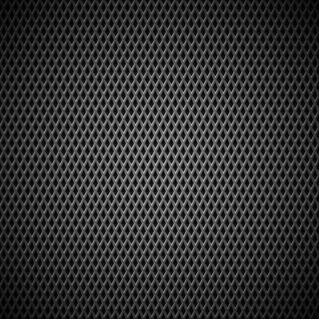 Technology background with seamless black carbon texture for internet sites, web user interfaces  UI , applications  apps  and business presentations  Vector Pattern Stock Vector - 19290039