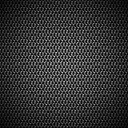 Tecnología de fondo con textura inconsútil de negro de carbono para los sitios de Internet, interfaces de usuario de la web la interfaz de usuario, las aplicaciones de aplicaciones y presentaciones de negocios Pattern Vector Ilustración de vector