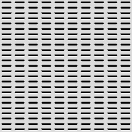 White abstract technology background with seamless perforated speaker grill texture for internet sites, web user interfaces, UI, applications, apps and business presentations. Vector illustration. Vector