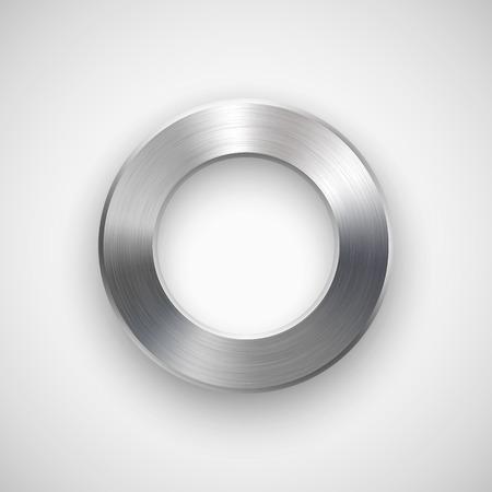 concentric circles: Dona abstracta, insignia anillo, plantilla de botones en blanco con la sombra realista y la luz de fondo para los sitios de Internet, interfaces de usuario web, la interfaz de usuario, aplicaciones, aplicaciones y presentaciones de negocios.