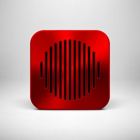 Aplicaci�n Red de tecnolog�a abstracto icono
