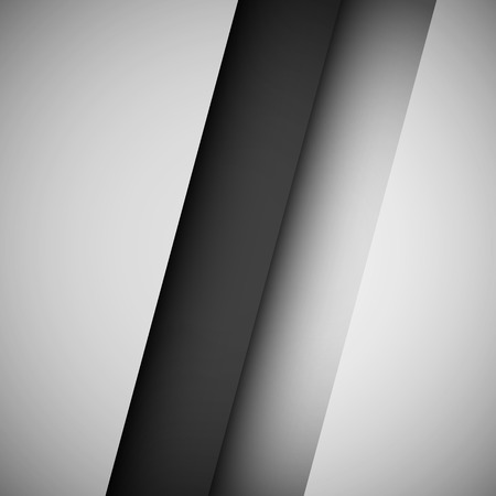 vignetting: Black and white abstract technology background with gradients, realistic shadows and vignetting for internet sites, web user interfaces, UI, applications, apps and presentations. Vector illustration.