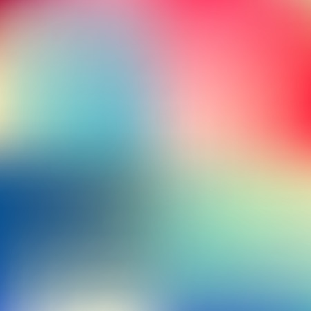 Abstract blue and pink blur color gradient background for web, presentations and prints. Vector illustration. Illustration