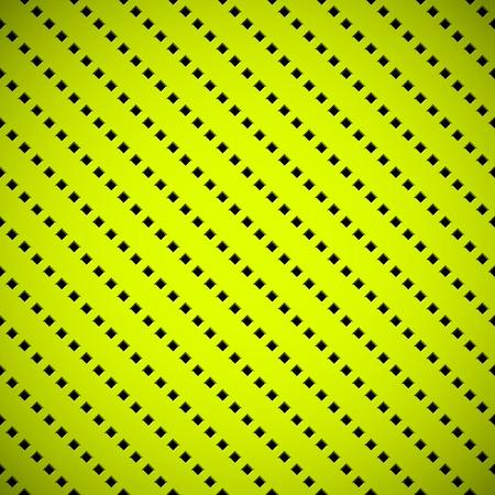 Tecnolog�a de fondo abstracto verde con fisuras cuadrados perforada textura rejilla del altavoz para web, interfaces de usuario, interfaz de usuario, aplicaciones, aplicaciones, presentaciones de negocios y el grabado. Ilustraci�n del vector.
