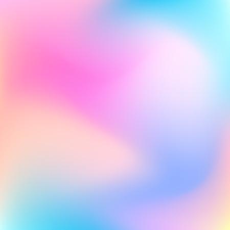 Resumen borroso pastel de fondo degradado de color para los conceptos de diseño, web, presentaciones, carteles y grabados. Ilustración del vector.