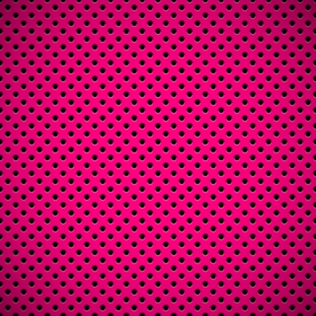 speaker grill: Magenta abstract technology background with seamless circle perforated speaker grill texture for web, user interfaces, UI, applications, apps, business presentations and prints. Vector illustration. Illustration