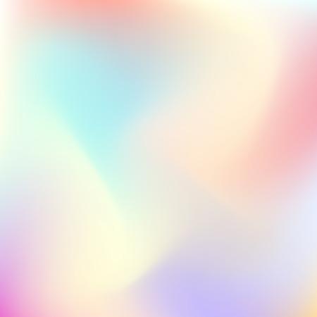 Gradiente de tendencia de color pastel de fondo Falta de definición abstracta de los conceptos de diseño, web, presentaciones, carteles y grabados. Ilustración del vector.