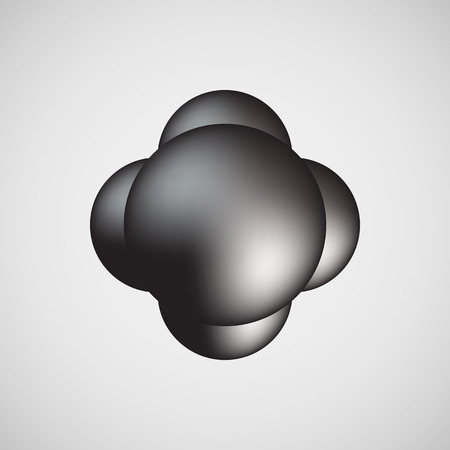 light reflex: Black bubble badge, realistic icon template with reflex and light background for design concepts, internet sites, UI, applications, apps, presentations and prints. Vector illustration.