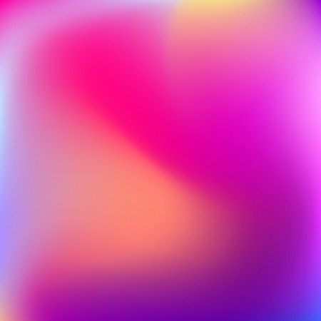 deign: Abstract blur gradient background with trend pastel pink, purple, violet, yellow and blue colors for deign concepts, wallpapers, web, presentations and prints. Vector illustration. Illustration
