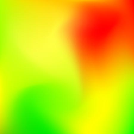 Abstrakt grün und orange Unschärfe Farbverlauf Hintergrund für Web, Präsentationen und Drucke. Vektor-Illustration.