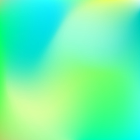 cyan business: Abstract background with trend gradient pastel blur colors, lime, yellow, green, blue and cyan for design concepts, web, business presentations, wallpapers, banners and prints. Vector illustration.