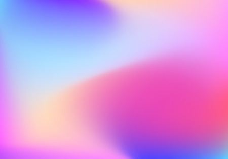blue orchid: Abstract blur gradient background with trend pastel pink, purple, violet, yellow and blue colors for deign concepts, wallpapers, web, presentations and prints. Vector illustration. Illustration