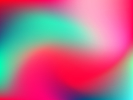 deign: Abstract blur gradient background with trend pink, pale, emerald, red and blue colors for deign concepts, wallpapers, web, presentations and prints. Vector illustration.