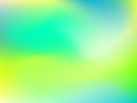 deign: Abstract blur gradient background with trend pastel green, yellow and blue colors for deign concepts, wallpapers, web, presentations and prints. Vector illustration.