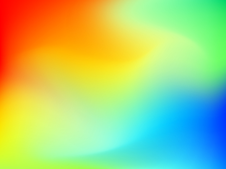 Abstract blur colorful gradient background with red, yellow, blue, cyan and green colors for deign concepts, wallpapers, web, presentations and prints. Vector illustration.
