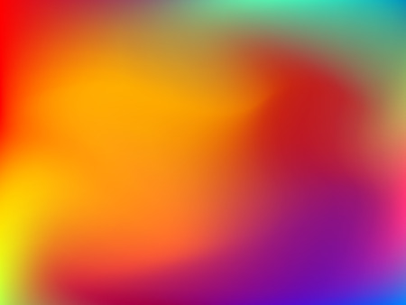 deign: Abstract blur colorful gradient background with red, yellow, blue, purple and green colors for deign concepts, wallpapers, web, presentations and prints. Vector illustration.
