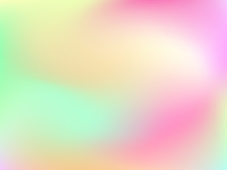 deign: Abstract horizontal blur gradient background with trend pastel pink, pale, green, yellow, cyan and blue colors for deign concepts, wallpapers, web, presentations and prints. Vector illustration.