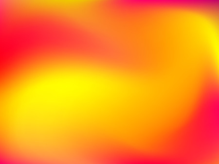 deign: Abstract blur gradient background with trend red, orange and yellow colors for deign concepts, wallpapers, web, presentations and prints. Vector illustration. Illustration
