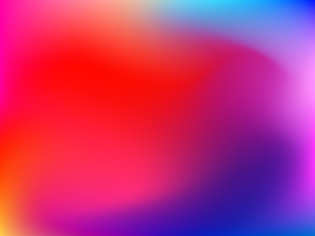 Abstract horizontal gradient blured background with pink, violet, purple, red, orange and yellow colors for deign concepts, wallpapers, web, presentations and prints. Vector illustration.