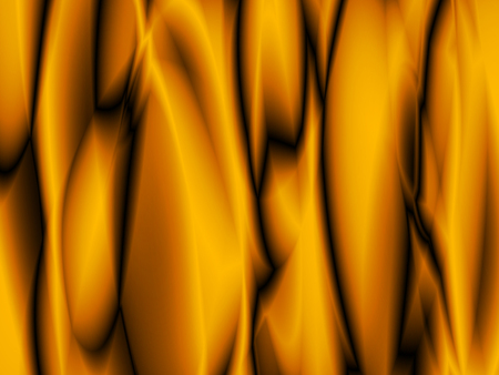 Orange abstract background with futuristic fabric Illustration