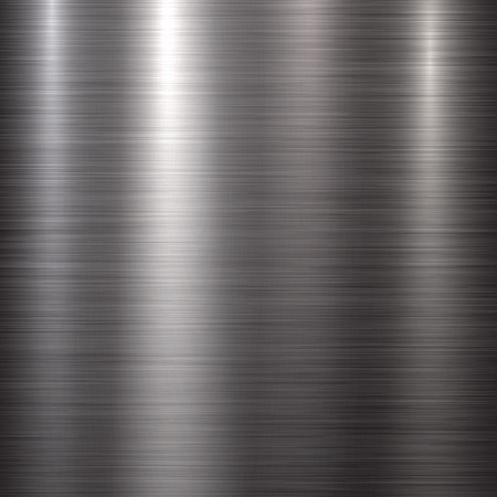 brushed aluminum: Abstract technology background with polished, brushed metal texture, chrome, silver, steel, aluminum for design concepts, web, prints, posters, wallpapers, interfaces. Vector illustration.