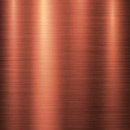brushed aluminum: Bronze metal technology background with polished, brushed metal texture, chrome, silver, steel, aluminum, copper for design concepts, web, prints, posters, wallpapers, interfaces. Vector illustration. Illustration