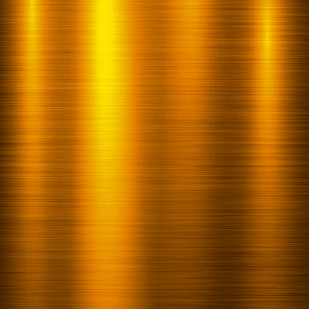 brushed aluminum: Gold metal technology background with polished, brushed metal texture, chrome, silver, steel, aluminum, copper for design concepts, web, prints, posters, wallpapers, interfaces. Vector illustration.
