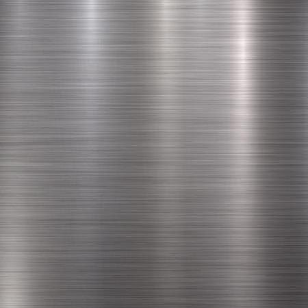 Metall abstrakte Technologie Hintergrund mit poliert, gebürstet Textur, Chrom, Silber, Stahl, Aluminium für Design-Konzepte, Web, Drucke, Plakate, Tapeten, Schnittstellen. Vektor-Illustration.