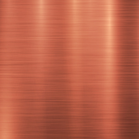 orange texture: Bronze metal technology background with polished, brushed metal texture, chrome, silver, steel, aluminum, copper for design concepts, web, prints, posters, wallpapers, interfaces. Vector illustration. Illustration