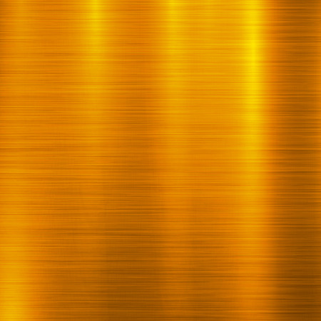 Gold metal technology background with polished, brushed metal texture, chrome, silver, steel, aluminum, copper for design concepts, web, prints, posters, wallpapers, interfaces. Vector illustration.