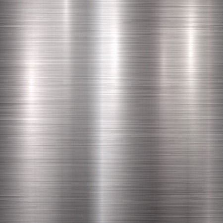 brushed steel: Metal abstract technology background with polished, brushed texture, silver, steel, aluminum for design concepts, web, prints, posters, wallpapers, interfaces. illustration.