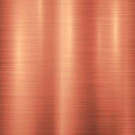 Bronze metal technology background with polished, brushed metal texture,  silver, steel, aluminum, copper for design concepts, web, prints, posters, wallpapers, interfaces. illustration. Reklamní fotografie - 63868656