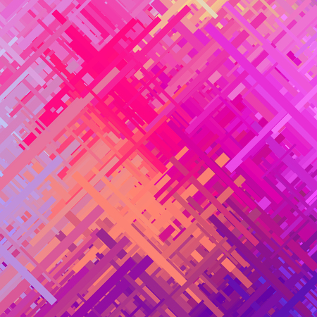 Pastel pink glitch background, distortion effect, abstract texture, random trend color diagonal lines for design concepts, posters, wallpapers, presentations and prints. illustration. Ilustrace