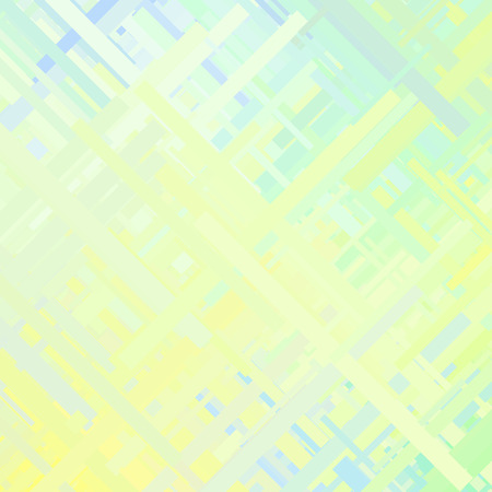 pale cream: Pastel green glitch background, distortion effect, abstract texture, random trend color diagonal lines for design concepts, posters, wallpapers, presentations and prints. illustration. Illustration