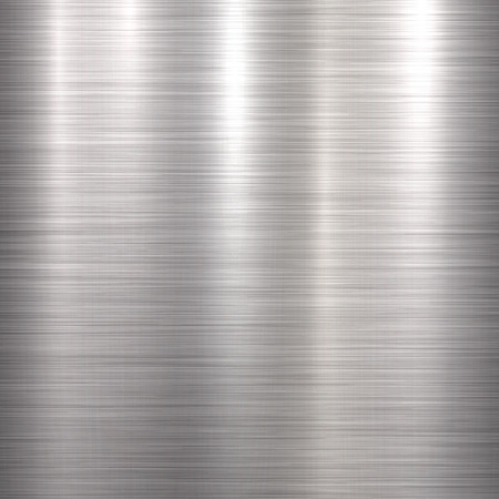 brushed aluminum: Metal abstract technology background with polished, brushed texture, chrome, silver, steel, aluminum for design concepts, web, prints, posters, wallpapers, interfaces.  illustration.