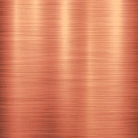 青銅の金属技術の背景に研磨、ブラシをかけられた金属の質感、クロム、銀、鉄、アルミ、銅デザイン コンセプト、web、プリント、ポスター、壁紙