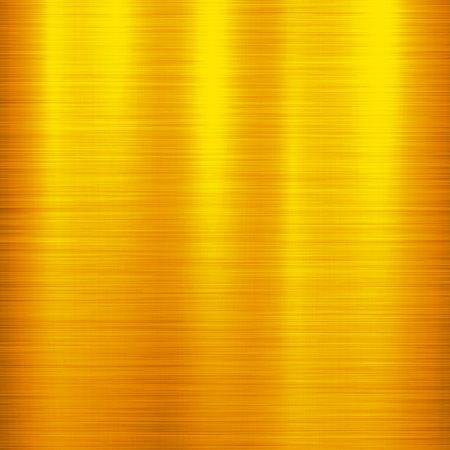 brushed aluminum: Gold metal technology background with polished, brushed metal texture, chrome, silver, steel, aluminum, copper for design concepts, web, prints, posters, wallpapers, interfaces.  illustration. Illustration