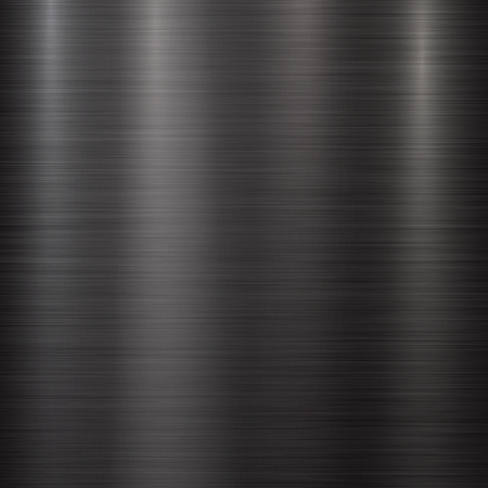 brushed aluminum: Black Metal abstract technology background with polished, brushed texture, chrome, silver, steel, aluminum for design concepts, web, prints, posters, wallpapers, interfaces. Vector illustration.