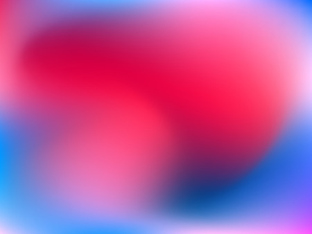 Abstract horizontal blur gradient background with trend pink, magenta, ultramarine and blue colors for deign concepts, wallpapers, web, presentations, prints. Album orientation. Vector illustration. Illustration