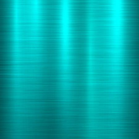 Blauer Metalltechnologiehintergrund mit abstraktem poliertem, gebürsteter Beschaffenheit, Chrom, Silber, Stahl, Aluminium für Designkonzepte, Tapeten, Netz, Drucke, Poster, Schnittstellen. Vektor-Illustration.