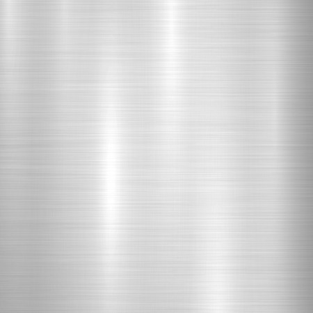 platinum: Metal abstract technology background with polished, brushed texture, chrome, silver, steel, aluminum for design concepts, web, prints, posters, wallpapers, interfaces. Vector illustration. Illustration