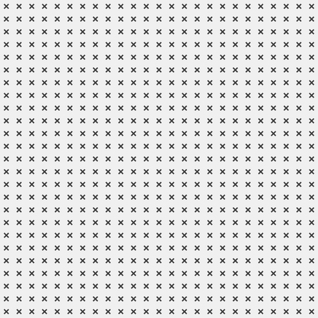 rood: White abstract background with seamless random dark crosses, dots, grunge texture for design concepts, posters, banners, web, presentations and prints. Vector illustration.