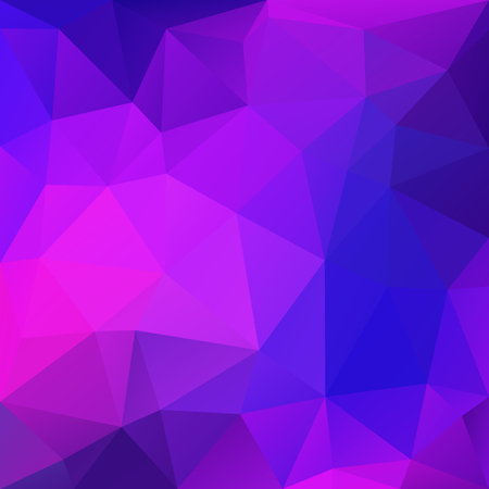 Purple abstract low-poly, polygonal triangular mosaic background for design concepts, wallpapers, posters, web, presentations and prints. Vector illustration.