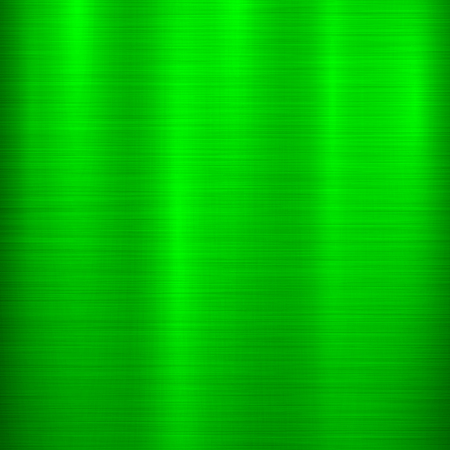 Green metal technology background with abstract polished, brushed texture, chrome, silver, steel, aluminum for design concepts, wallpapers, web, prints, posters, interfaces. Vector illustration. Ilustrace