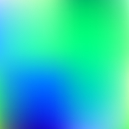 Abstract blue and green blur color gradient background for web, presentations and prints. Vector illustration. Ilustrace