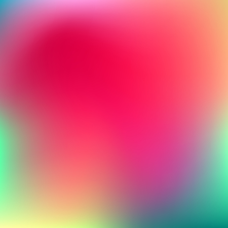 Abstract pink, teal, purple and green blur color gradient background for web, presentations and prints. Vector illustration.