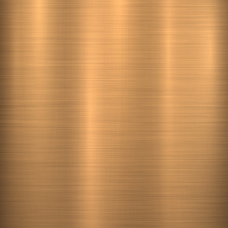 Bronze metal technology background with polished, brushed texture, chrome, silver, steel, aluminum, copper for design concepts, web, prints, posters, wallpapers, interfaces. Vector illustration.