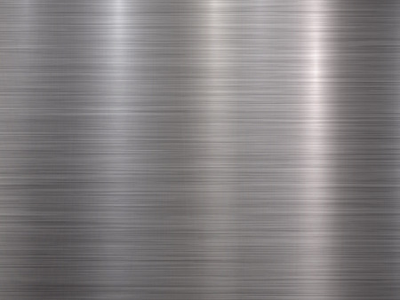 Kovové horizontální abstraktní technologické pozadí Ilustrace