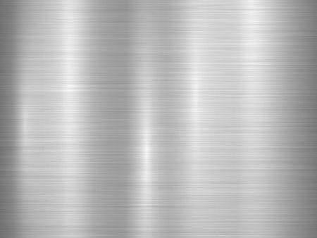 platinum: Metal horizontal abstract technology background